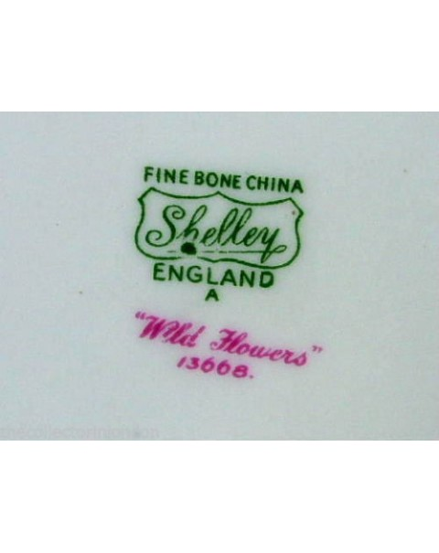 (OUT OF STOCK) SHELLEY WILD FLOWERS BOWL